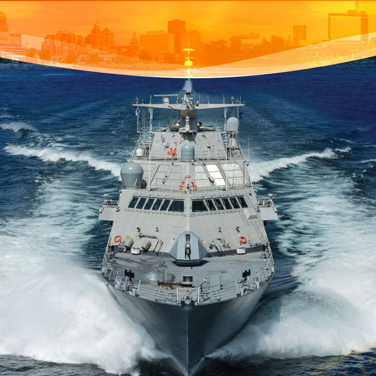 State-of-the-art Naval Ship Brings Incredible Numbers